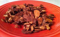 cinnamon cocoa baked almonds