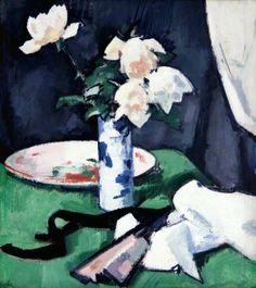 Still Life, White Roses (c1925)