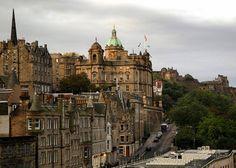 Edinburgh... gorgeous and so easy to walk around