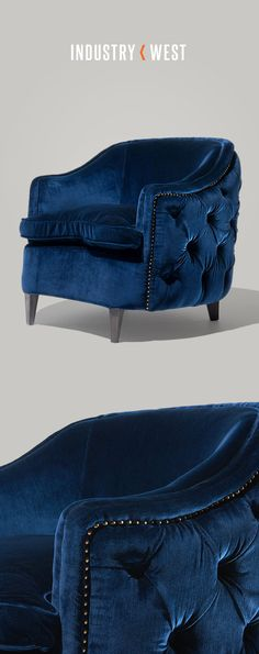 We're seriously crushing on all things velvet this fall season. Shop the Erwin Club Chair at industrywest.com!