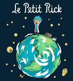 Tiny Book about Tiny Rick on a Tiny Planet