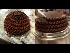 Como fazer Bolo de Chocolate - Massa Chiffon - YouTube