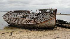 https://flic.kr/p/nBuV4C | Epave de bateau - Presqu'île de Gâvres (Bretagne, Morbihan, France)