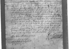 Order for the massacre from Major Robert Duncanson to Captain Robert Campbell of Glenlyon. Picture: Contributed