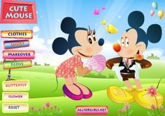 Mickey Mouse and Minnie Mouse to Fashion