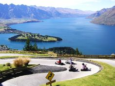 The Luge in Queenstown. What a view!!
