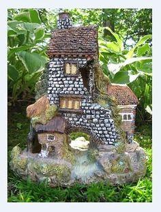 #Bonanza #Fairy #House #Miniature #Garden #Lawn #Patio #Outdoor #Landscape #Decor #Decoration #Gift #Hill