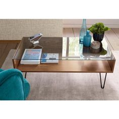 Table basse plateau en verre, Watford La Redoute Interieurs 160€