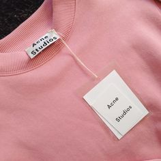 Acne Studios Pink Sweater - ACNE - Labelcrush