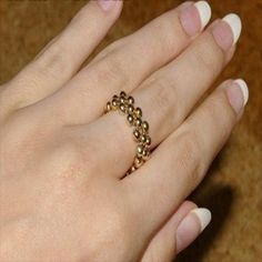 DIY Crafts : DIY make a ring with the use of beads