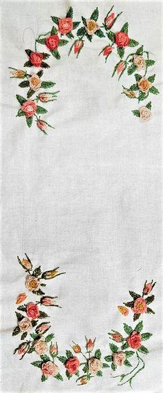 Napkins, Embroidery, Towels, Dinner Napkins