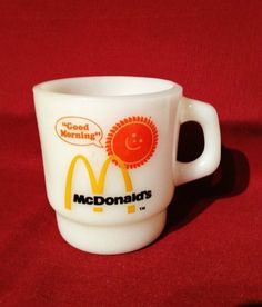 "Collectible Vintage ""Good Morning"" Mcdonald's Oven-proof Anchor Hocking Milk White Coffee Mug Cup by Anchor Hocking, http://www.amazon.com/dp/B00CCHNH22/ref=cm_sw_r_pi_dp_9pFArb0EKEE3S"
