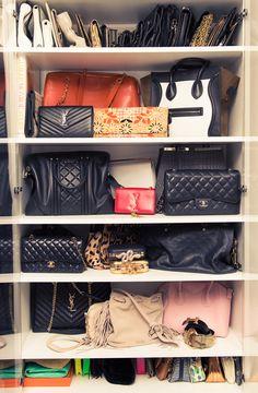 Inside Shay Mitchell's Bag Closet