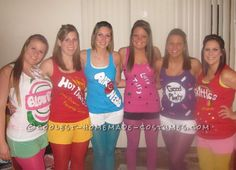 Coolest Candy Group Costume... This website is the Pinterest of costumes
