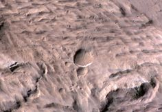 Evidence of Martian life could be hard to find in some meteorite blast sites