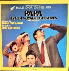 "When Father Was Away On Business  12"" Vinyl Lp MINT original Soundtrack French Import (1985 music Zoran Simjanovic) Emir Kusturica film"