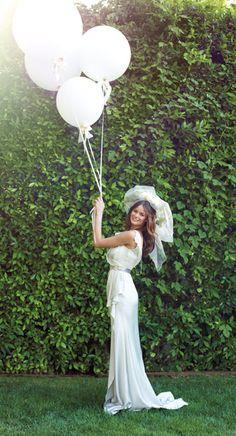 Loving the wedding balloons