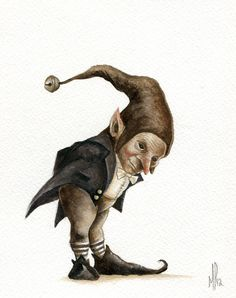 Marc Potts: Trolls, Goblins, Gnomes and a Pixy. for sale on Etsy! Woodland Creatures, Magical Creatures, Fantasy Creatures, Art And Illustration, Illustrations, Fantasy Kunst, Fantasy Art, Elfen Fantasy, Kobold