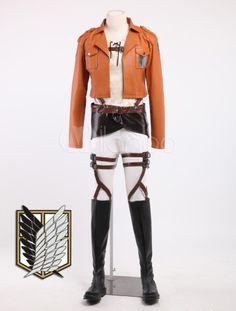 Cool Eren Jaeger Cosplay Attack On Titan Costume - Milanoo.com