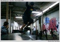 Manobra : B/s Crooked e B/s Rockslide Galpão da tripe skate shop - Guarujá/SP