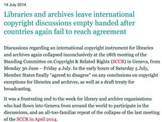 No decision http://www.ifla.org/about-the-committee-on-copyright-and-other-legal-matters
