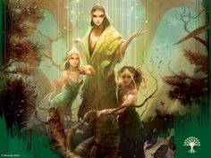 brown hair butterfly card art druid fantasy female green long hair mage magic magic the gathering nature ravnica selesnya sorcerer tagme trees trio trostani voice wizard Character Concept, Character Art, Concept Art, Character Design, High Fantasy, Fantasy World, Fantasy Art, Magic The Gathering, Dark Souls