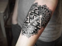 Geometric Black Tattoo arm tattoo design, black, black and white tattoo, ink, tattoo  http://tattoo-designs.us/geometric-black-tattoo/