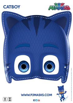 Make your own Catboy mask! #pjmasks #activitysheet #disneyjunior