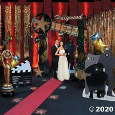 Hollywood Night, Hollywood Party, Quinceanera Planning, Quinceanera Party, Vintage Party Decorations, Birthday Party Decorations, Party Themes, Hollywood Decorations, Decoration Party