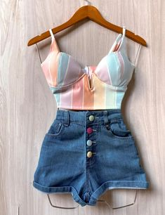 Swag Outfits, Stylish Outfits, Cute Outfits, Fashion Outfits, Womens Fashion, Beautiful Girl Image, Look Fashion, Aesthetic Clothes, I Dress