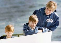 Diana, Princess of Wales and her boys on Remembering the Princess