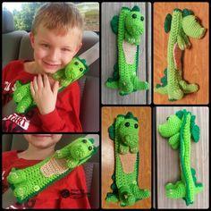 Seat Belt Cover - ... by ArtofaDG | Crocheting Pattern