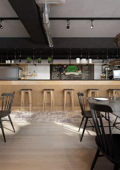 Restaurant in Krakow on Behance