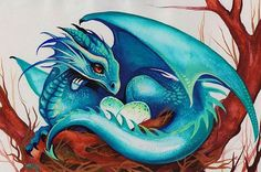 Art 'Dragons Nest' - by Nico Niemi from dragons