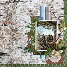 Ark med ark fra flere arkserier.. Wreaths, Frame, Layouts, Scrapbooking, Design, Home Decor, Picture Frame, Decoration Home, Door Wreaths