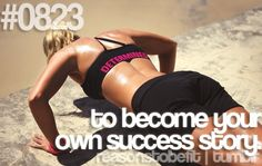 become your own success story