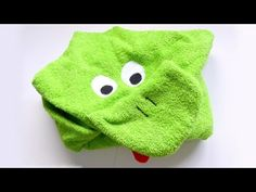 Toalla para bebé con capucha - Hooded baby towel - YouTube
