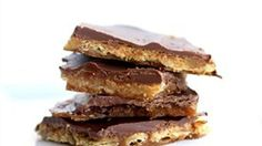 Bite into sweet toffee with a salty secret inside. You'll never believe there are saltine crackers hidden in this yummy toffee recipe!