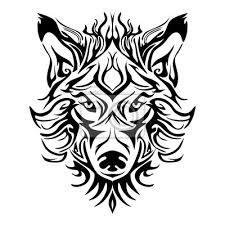 tetování hlava vlka - Hledat Googlem Tribal Wolf Tattoo, Tribal Art, Wolf Tattoos, Wolf Emblem, Dragon Tattoo Sketch, Deer Head Tattoo, Lace Tattoo Design, Yin Yang Tattoos, Dragon Silhouette