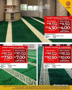 Other for sale, in Klang, Selangor, Malaysia. Have Provided Mosque Rugs With Various Variants. Karpet Masjid Most Beautiful & co