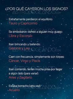 ¿POR QUÉ CAYERON LOS SIGNOS? #Zodiaco #Astrología #Astrologeando