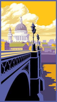 Travel image illustrations on Behance Railway Posters, Travel Posters, Flat Color, Colour, Travel Illustration, Travel Images, Seaside, Taj Mahal, London