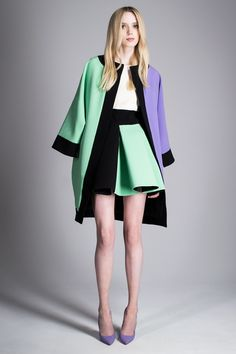 fausto puglisi, pre-spring/summer 2015 ready-to-wear. (i love the coat!)