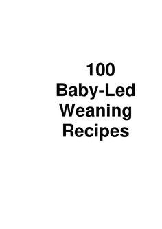 100 BLW recipes. This looks like a great resource. Will be printing this out!