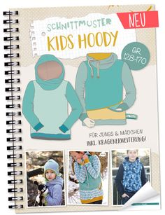 Lybstes. Kids Hoody E-BOOK | Gr. 128-170