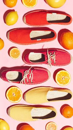 When life gives you lemons (and oranges too) turn them into delicious shoes! #eleh #eleh1840 #SS16