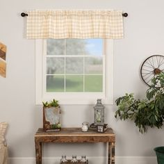 Kettle Grove Door Panel with Attached Applique Crow and Star Valance 72x40 - Door Panel with Valance 72x40 - On Sale - Overstock - 26057380 Lined Curtains, Valance Curtains, Fox Decor, Panel Doors, White Fabrics, Home Decor Outlet, Soft Furnishings, Farmhouse Decor, Home Goods