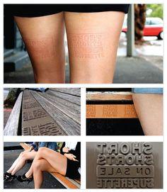 stamp advertisement