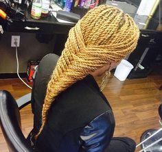 Blonde Senegalese Twists