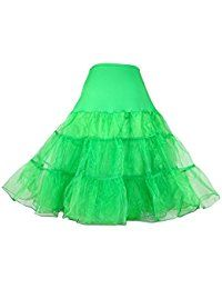 Women's 50s Vintage Rockabilly Petticoat,26' Length Net Underskirt(FBA) * Check out this great product.